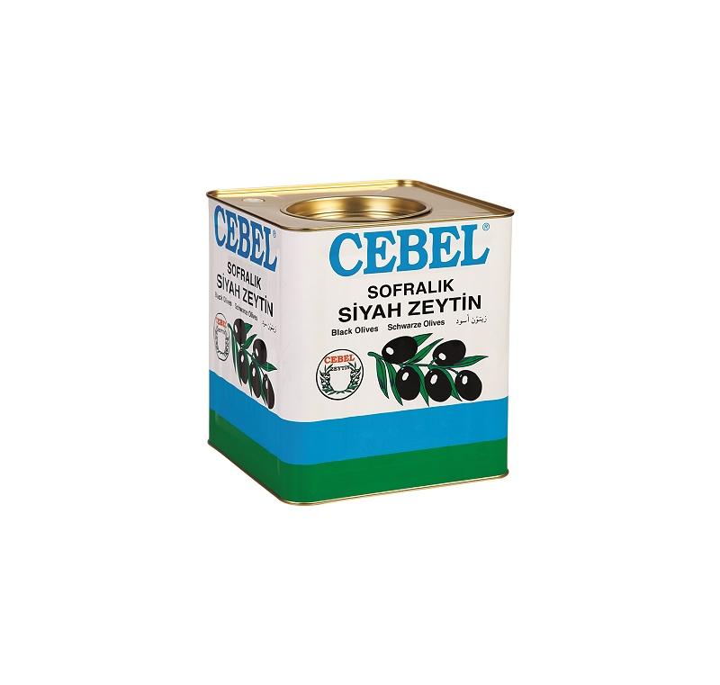Cebel Zwarte Olijven XL 10 kg