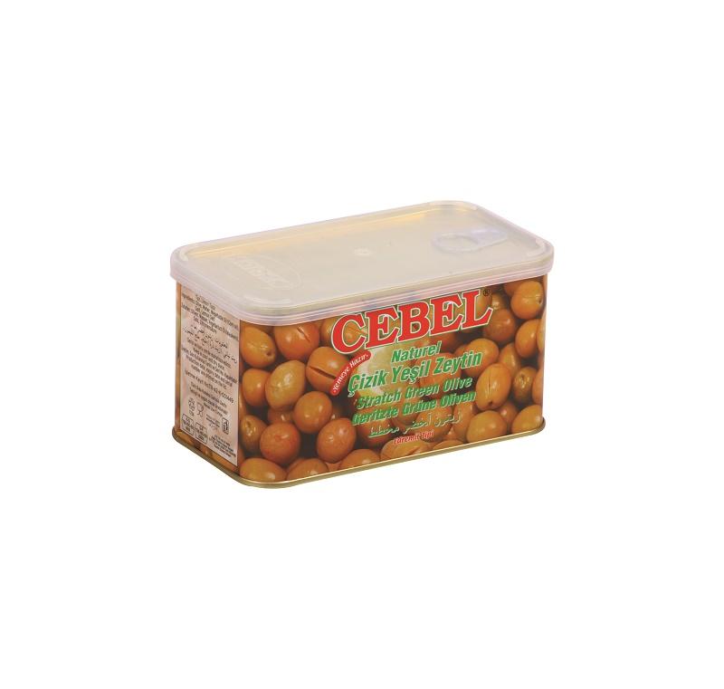 Cebel Groene olijven gesneden 700 gr