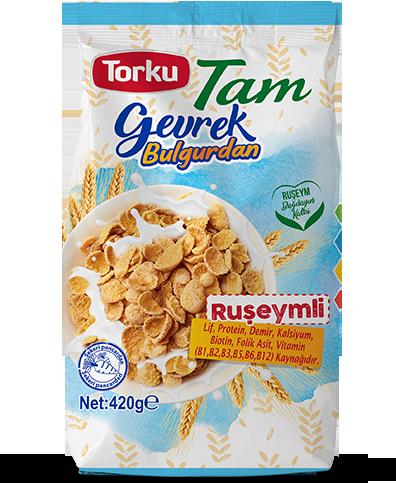 Torku Tam ruseymli bulgur cornflakes 420 gr